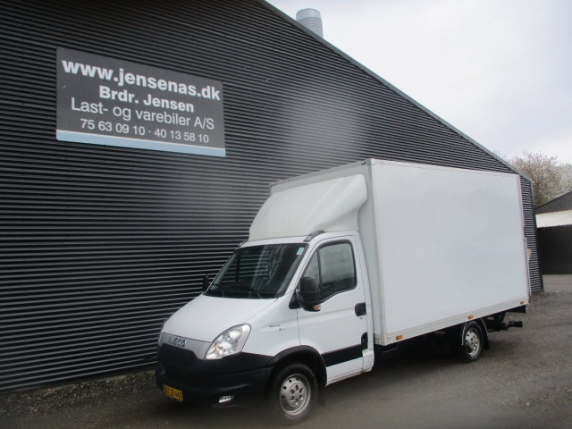 Iveco Daily 2,3 35S13 Alukasse m/lift 2014<br/>Km: 96000