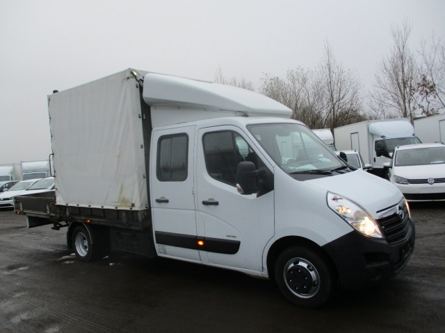Opel Movano 2,3 CDTi 146 Mandskabsvogn m/lad 2012<br/>Km: 70000